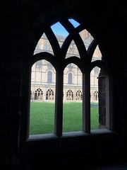 Cloistered (BiggestWoo) Tags: colour colours east north life monastic monastery monk monks history religion potter harry contrast black cloistered cloisters cloister church cathedral durham