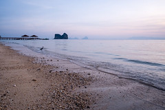 Sunrise in Koh Ngai, Thailand (Kristaaaaa) Tags: thailand sky travel kongai beach scene nature sun water ocean island islands limestone traveller travelphotography nomad wanderlust photo asia photograph southeastasia adventure fujifilm fuji fujix fujixseries fujixt2 xt2 longexposure tripod long shutter landscape rocks rock sunset dusk sea seascape shore tropical sand bay beauty waves clouds color colour colourful colorful sunrise