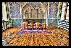 Qoʻqon UZ - Khan's Palace throne room (Daniel Mennerich) Tags: silk road uzbekistan kokand history architecture hdr qoʻqon