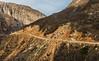 Mountain road (emilqazi) Tags: mountains azerbaijan rock hill car vehicle driving road cliff gorge canyon landscape