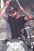 Ben's Beats (peterkelly) Tags: royalblood benthatcher digital canon 6d ontario canada northamerica music musician festival performer wayhomemusicartsfestival wayhome oromedonte barrie drummer drumming drum drumstick hat sunglasses