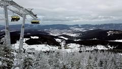 Not much snow, but enough to ski (piotr_szymanek) Tags: czarnagora winter ski snow lift panorama mountains 1k 5k 10k