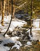 My Mini Waterfall . . . (Dr. Farnsworth) Tags: river rapidriver waterfall clear clean water snow melting rain sevenbridges mi michigan winter february2018