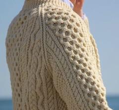 Aran honeycomb jumper (Mytwist) Tags: aranstyle aransweater donegal dublin style fashion honeycomb irish craft vintage heritage polo