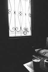 Cafe corner (dzunglv) Tags: coffee bw corner window shadow lazy moment friend lonely mood table indoor dark morning drink dream vintage vietnam hanoi highlight blackandwhite old nopeople quiet winter explore relax travel you urban us asian alone art street stilllife fade joy enjoy bokeh fuji fujifilm view vietnamese contrast city x70 zonefocusing dof
