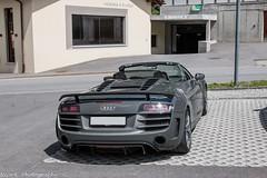 Audi R8 GT Spyder (Nico K. Photography) Tags: audi r8 gt spyder grey nicokphotography supercars switzerland bivio