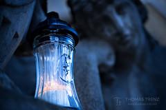 Time to think... (Thomas TRENZ) Tags: emotion schmerz tamron thomastrenz trauer away blau blue commemorate d600 death denken feeling gedenken gefã¼hl grab grave hurt iamnikon loss lost mourning nikonaustria think tod tot verlust weg vienna wien austria österreich simmering