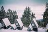 Winter time on Plešivec. (icarium82) Tags: erzgebirge snow sonydscrx1rm2 mountain landscape winter travel analogefex huts czechrepublic tschechien plessberg skiing resort view mountaintop