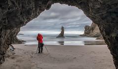 Bandon Cave (KPortin) Tags: bandonoregon oregon wilbur seastacks surf longexposure reflections photographer ocean cave