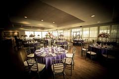 Randor Hunt Weddings (jscottcatering) Tags: randor hunt wedding landscape tablesettings centerpiece decor purple setup