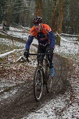 DSC_0090 (sdwilliams) Tags: cycling cyclocross cx misterton lutterworth leicestershire snow