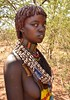 Banna Woman (Rod Waddington) Tags: africa african afrique afrika äthiopien ethiopia ethiopian ethnic etiopia ethnicity ethiopie etiopian omovalley omo outdoor omoriver banna tribe traditional tribal culture cultural woman beads landscape