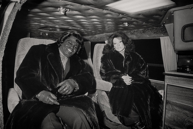 Analog Archive: James Brown, Dortmund, 1987 (man, do I hate these furs)