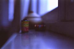 Gas Station Film. (35mm) | Exp. Kodak Gold Ultra 400. (samuel.musungayi) Tags: film 35mm 135 24x36 argentique analog pellicule pelicula negativo negative négatif expired home light life candid test secacolor ferrania 3m color scan photography photographie fotografia samuel musungayi samuelmusungayi