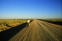 Pushing towards The Granites gold mine on the Tanami Track, Northern Territory. Image: Greg Yeoman