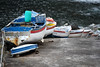 Inline parking (Elios.k) Tags: horizontal outdoors nopeople pontadoarnel road steep port woodenfishingboats rusty sea ocean atlanticocean portopesqueiro dof depthoffield focusinforeground backgroundblur bokeh rowofboats inaline colour color travel travelling june2017 summer vacation canon 5dmkii photography island nordeste saomiguel sãomiguel acores azores portugal europe