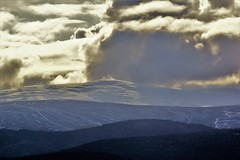 Snow covered mountain. (artanglerPD) Tags: snow covered mountain winter sunlight