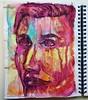 Christian Montone - Sketchbook (Christian Montone) Tags: montone christianmontone watercolor mixedmedia pencil drawing painting faces portrait sketch journal