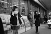 At the station (Bill Morgan) Tags: fujifilm fuji x100f bw jpeg acros street kichijoji tokyo