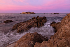 Something To Remember Me By (chasingthelight10) Tags: events photography travel landscapes beaches nature ocean rockformations sunrise sunrises places california pebblebeach bigsur