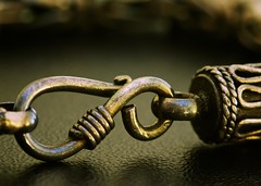 Thai Clasp (Bino99) Tags: macromondays fasteners thai clasp bracelet silver macro canon canonef100mmf28macro eos 70d