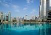 MircK - Burj Park (imNOTaPh) Tags: nikon mirck d3100 ontheroad roadtrip dubai dubaimall uea burjkhalifa burjpark sky travel travelphotography water blue