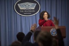 180301-D-IO684-062 (Secretary of Defense) Tags: pentagon spokeswoman pbr tsgt vernon young jr