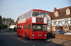 Walton on the Hill (DaveAFlett) Tags: dms daimler fleetline ojd246r londontransport lt