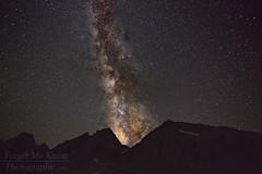 Stellar Eruption II (Forget Me Knott Photography) Tags: milkyway stars galaxy universe midnight night dark nightphotography silhouette mountain mountains mountainrange pinnacles kearsarge kearsargepinnacles kearsargelakes kearsargepass sierra sierranevada california