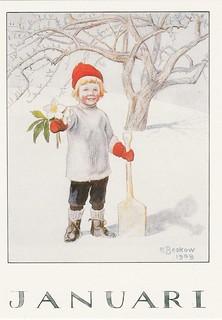 Elsa Beskow Postcards