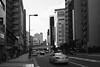 "Japan-2-015-osaka - city (david ""Djannis"") Tags: 大阪 日本 japan osaka japon city building architecture gratteciel noir et blanc black white monochrome"