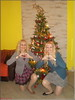 This was our Christmas 2017. (Mary (Mária)) Tags: christmas 2017 christmastree blondes mother daughter twins dolls curls family love xoxo