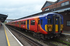 South Western Railway 455716 (Will Swain) Tags: guildford station 13th october 2017 train trains rail railway railways transport travel uk britain vehicle vehicles country england english south western 455716 class 455 716
