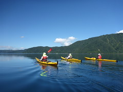 Not a bad day for a little paddle! (Magryciak) Tags: 2017 kayaklife kayak canoe paddle paddling newzealand water lake northisland blue sky adventure summer sport smooth explored