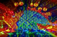 Neon Fish (petejam70) Tags: fish art colors light community event vancouvercanada night longexposure surreal mysterious
