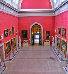Hartford Connecticut ~ Wadsworth Atheneum Museum of Art ~  Gallery (Onasill ~ Bill Badzo) Tags: unitedstates hartford ct conn connecticut downtown historic nrhp register onasill wadsworth atheneum museum art gallery european baroque french american impressionist paintings hudson river school landscape modernist masterpieces masters contemporary works furniture decorative arts oldest building castle romanesque style architecture galleries hale nathan statue attraction site travel tourists hall vault indoor oil 1001nights 1001nightsmagiccity