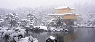 KINKAKU / Snowy Golden Pavilion 雪の金閣寺