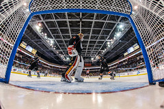 """Kansas City Mavericks vs. Cincinnati Cyclones, February 3, 2018, Silverstein Eye Centers Arena, Independence, Missouri.  Photo: © John Howe / Howe Creative Photography, all rights reserved 2018. • <a style=""""font-size:0.8em;"""" href=""""http://www.flickr.com/photos/134016632@N02/39407450294/"""" target=""""_blank"""">View on Flickr</a>"""