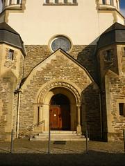 Eingang Synagoge (Jörg Paul Kaspari) Tags: wittlich synagoge ehemalige wittlicher eifel moseleifel eingang eigangsportal portal