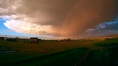 Sunset Mania (northern_nights) Tags: timelapse sunset firesky rainbow mammatus clouds thunderstorm cheyenne wyoming redsky