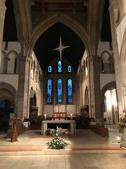 Epiphany Star (BiggestWoo) Tags: sanctuary chancel altar epiphany flowers crib star church minster grimsby