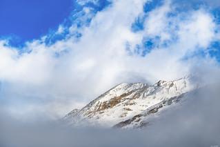 Framed in clouds