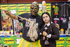 toxic avenger and wednesday addams (timp37) Tags: wizard world comic con august 2017 chicago illinois rosemont cosplayers nat nathalie wednesday addams family toxic avenger