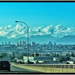 Richmond British Columbia - Canada - The Arthur Laing Bridge - View Vancouver BC thumbnail
