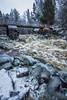 Latokartanonkoski (Aissi) Tags: select rapids nature water winter finland latokartanonkoski salo perniö rocks bridge landscapes