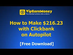 Download How to Make $216.23 with Clickbank on Autopilot (appstrice) Tags: