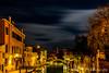 Venedig bei Nacht (Robert.B. Photography) Tags: venedig nacht wolken langzeitbelichtung architektur sterne wasser kanal fluss lagune lichter venice night clouds longexposure architecture star water canal river lagoon lights bridge brücke