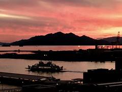 Sunset Ferry (raforrest) Tags: inlandsea japan setouchi setonaikai island sunset port ferry miyajima hiroshima