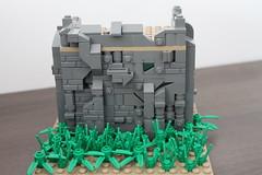 Some Castle Wall Stuff (-Matt Hew-) Tags: lego castle minifigure kingdoms moc technique