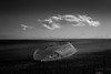 Iceberg & Running Cloud (Sophie Carr Photography) Tags: cloudporn iceberg cloud blackwhite bw jokulsarlon iceland
